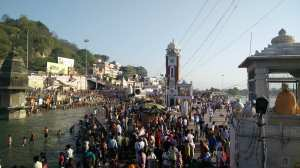 Ganga, at Haridwar